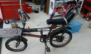 Raleigh Chopper original condition with number plate