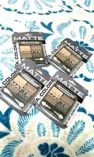 L.A COLORS matte eyeshadow