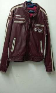 Vintage Leather Jacket cafe racer