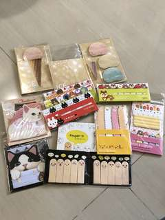 New Cute Stationery-Sticky Notes, Post-It,Memo Pads for clearance