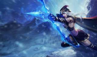 CLEARANCE Ashe League of Legends cosplay