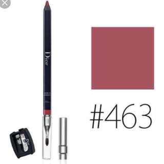 Christian Dior Contour Lipliner Pencil with Brush & Sharpener - 463 Bois de Rose 唇缐筆