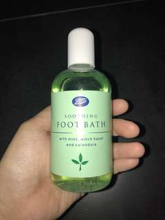 clearance! bn boots soothing foot bath