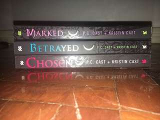 Pre-Loved: Marked Series by P.C Cast + Kristin Cast Set