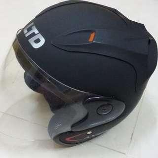 Helmet LTD A-VENT Matt Hitam