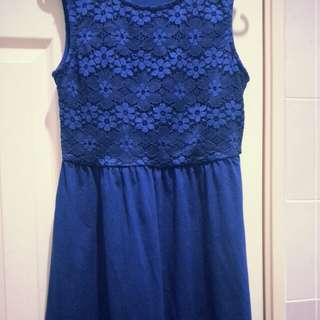Royal Blue Padini Dress