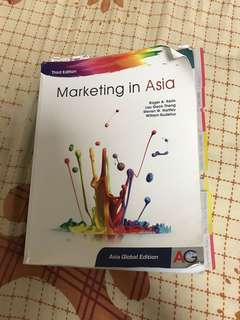 Third Edition Marketing In Asia Textbook