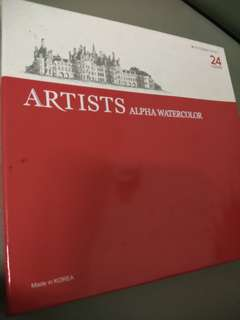 Artists Alpha watercolor
