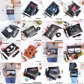 Sling bag/cluth