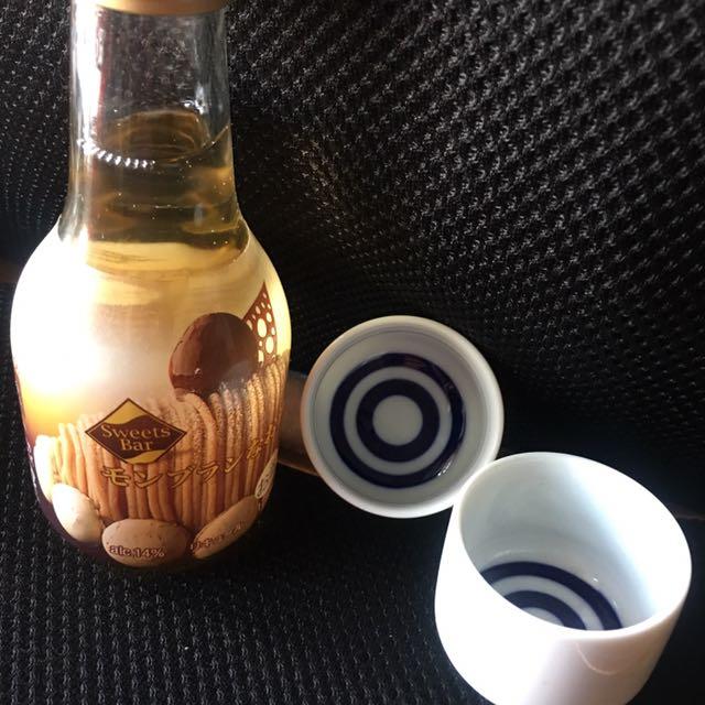 日本栗子燒酒 送全新杯