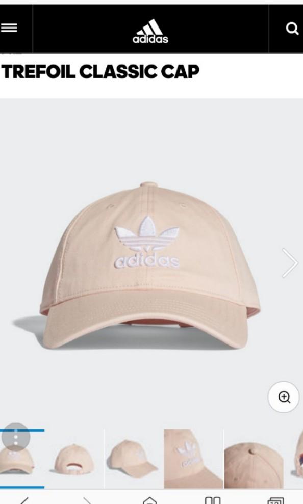 4c03c0c5e8d ADIDAS ORIGINALS TREFOIL CLASSIC CAP IN PINK - BRAND NEW BOUGHT ...