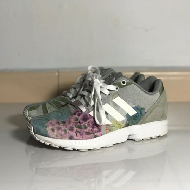 the latest 8039a f1cff Adidas Originals Women's ZX flux(floral), Women's Fashion ...