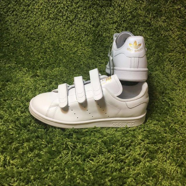 Adidas Stan Smith Velcro - Gold Tag