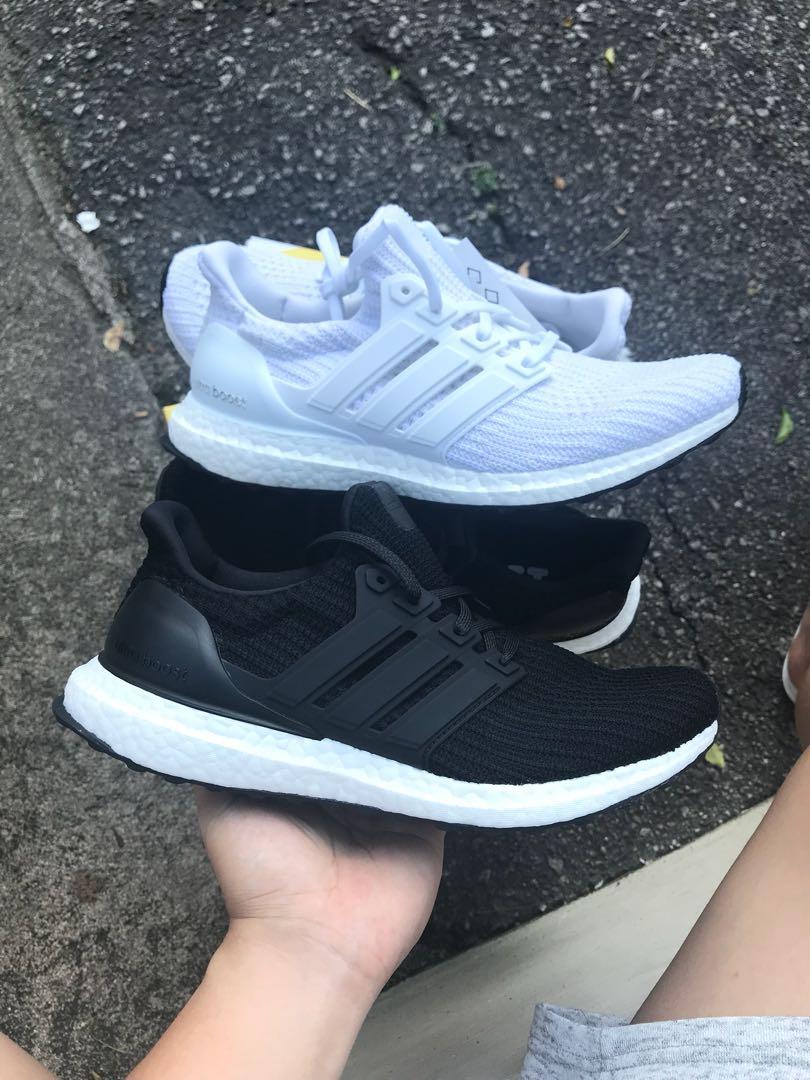 6409f7e07 Adidas ultra boost Triple white and black 4.0