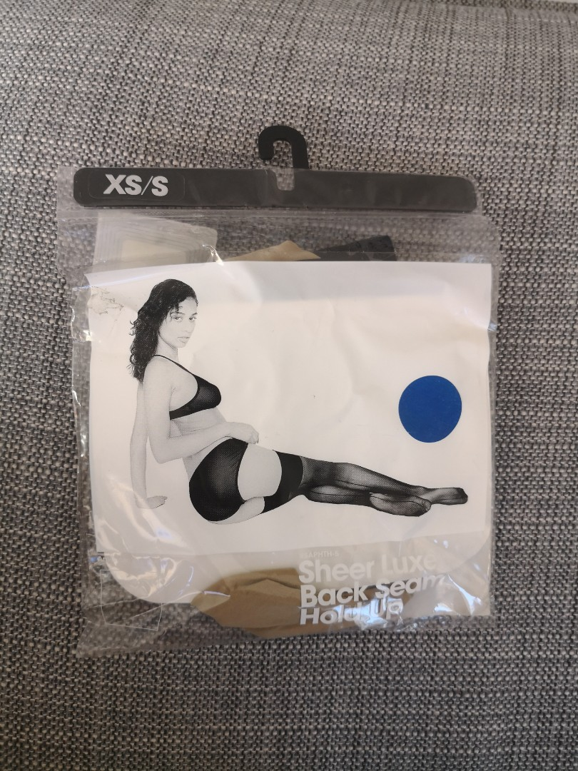 American Apparel seam hold up stockings
