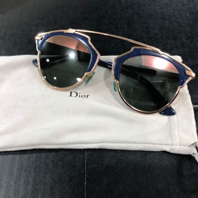 c0cada9c2a2 Authentic DIOR So Real limited edition sunglasses