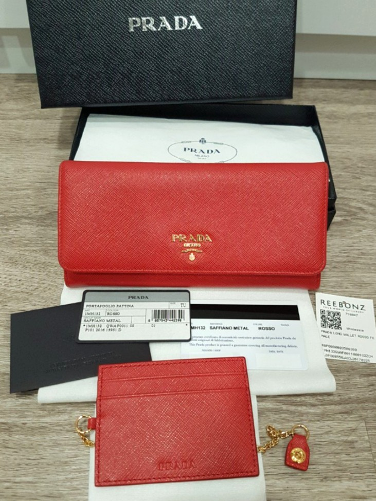 e510be1eec63 ... usa authentic prada saffiano metal long flap wallet luxury bags wallets  on carousell 4ce9a 5b2f4