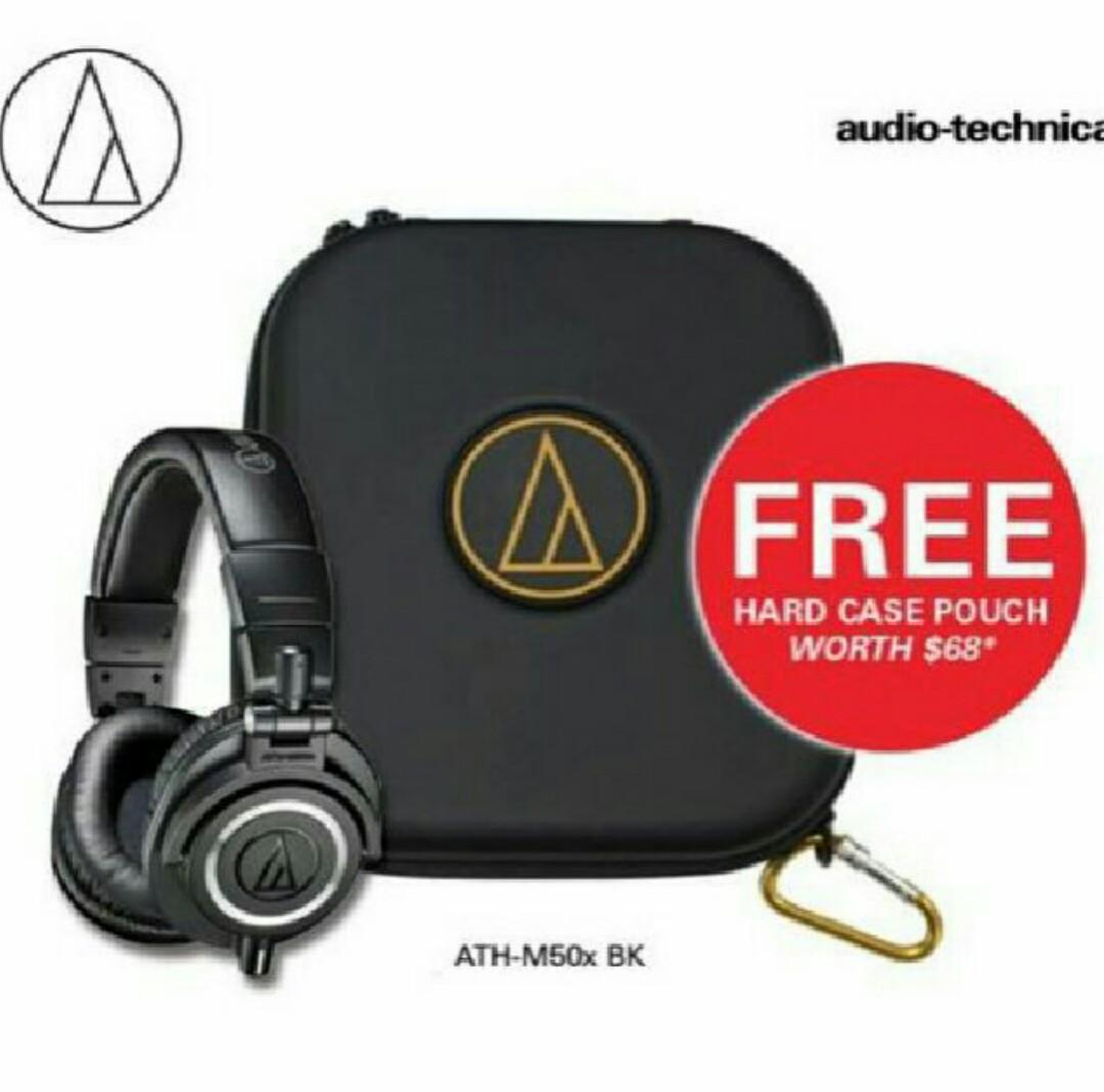 81b151e56d8 FREE CASE] Audio Technica ATH-M50x BLUETOOTH AVAILIABLE!! NEW ...