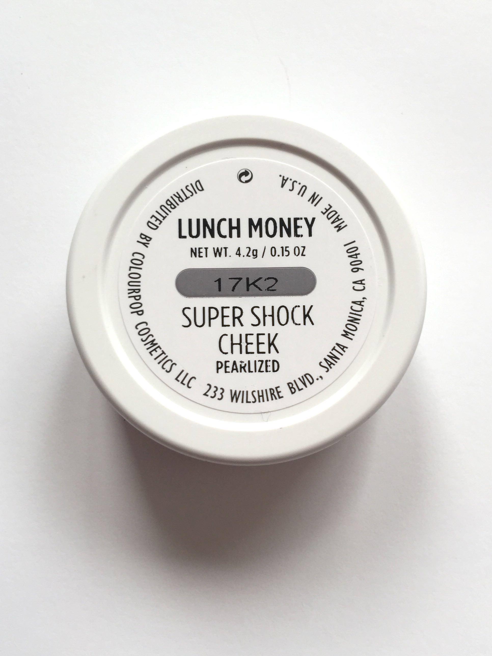 Brand New ColourPop Super Shock Cheek - LUNCH MONEY ❤️AUTHENTIC❤️