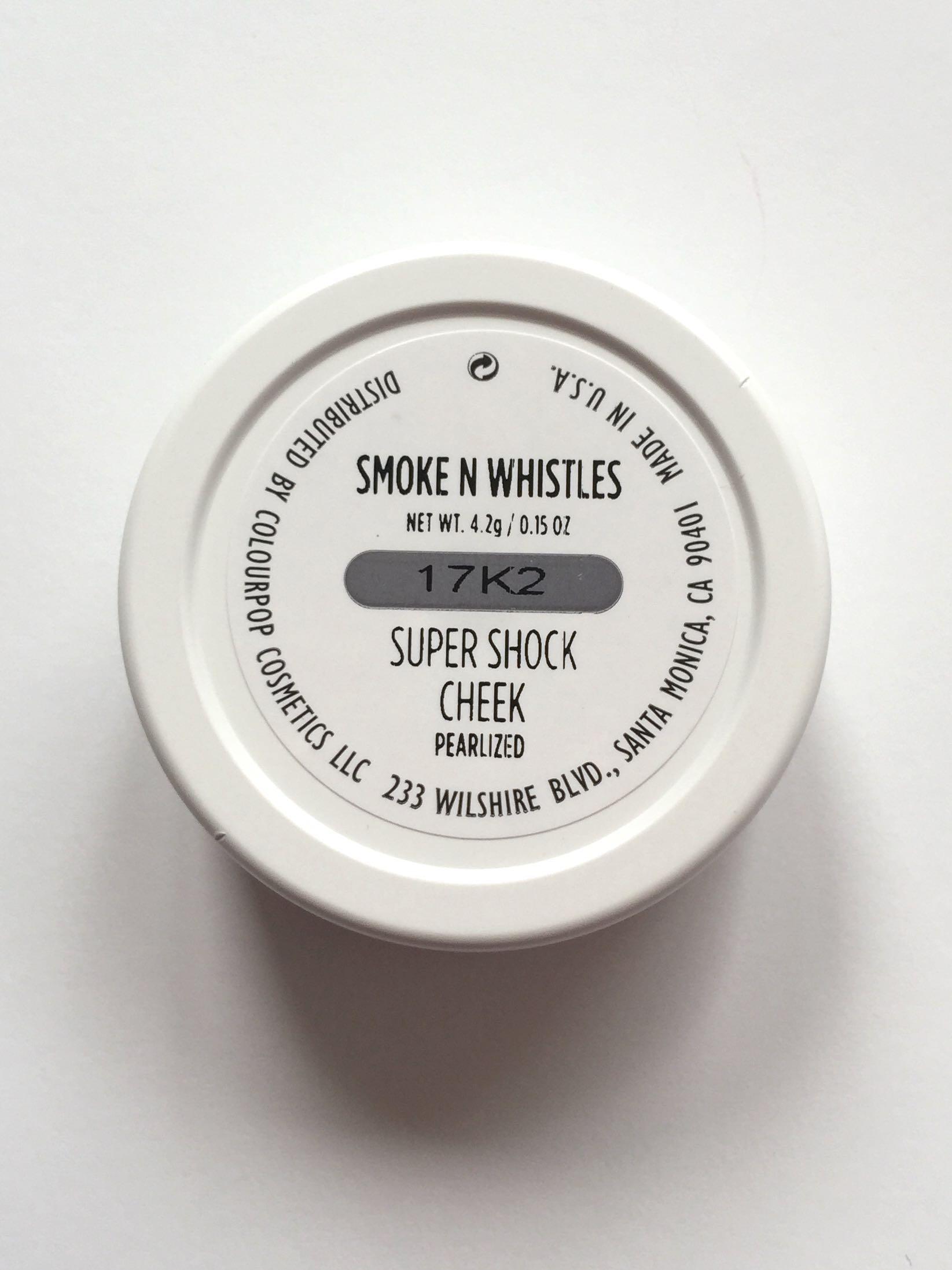 Brand New ColourPop Super Shock Cheek - SMOKE N WHISTLES ❤️AUTHENTIC❤️