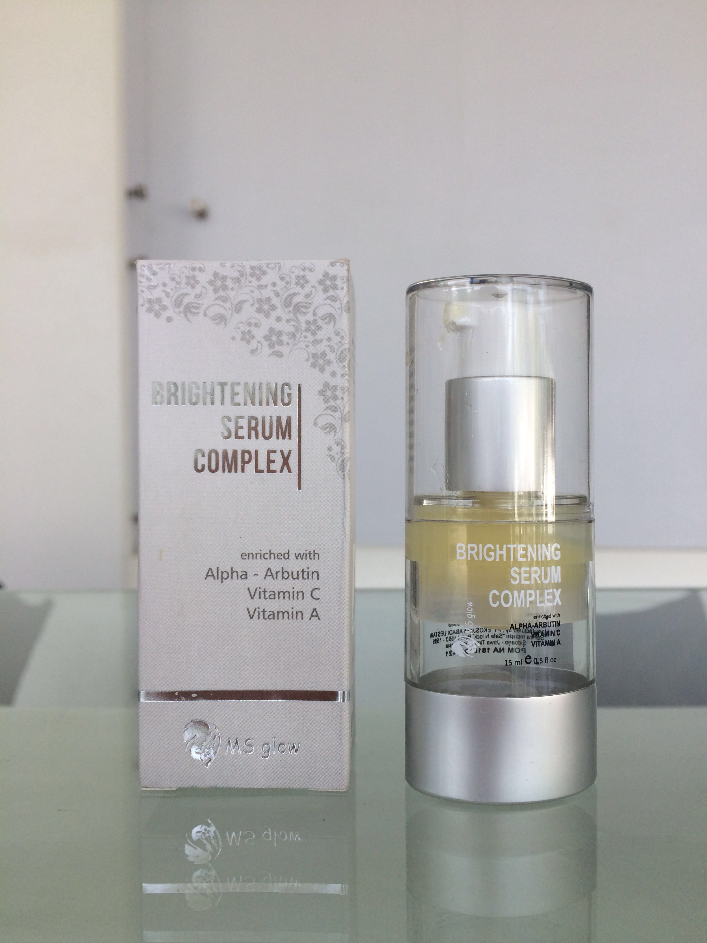 BRIGHTENING SERUM COMPLEX MS GLOW 15ml, Health & Beauty, Makeup on Carousell