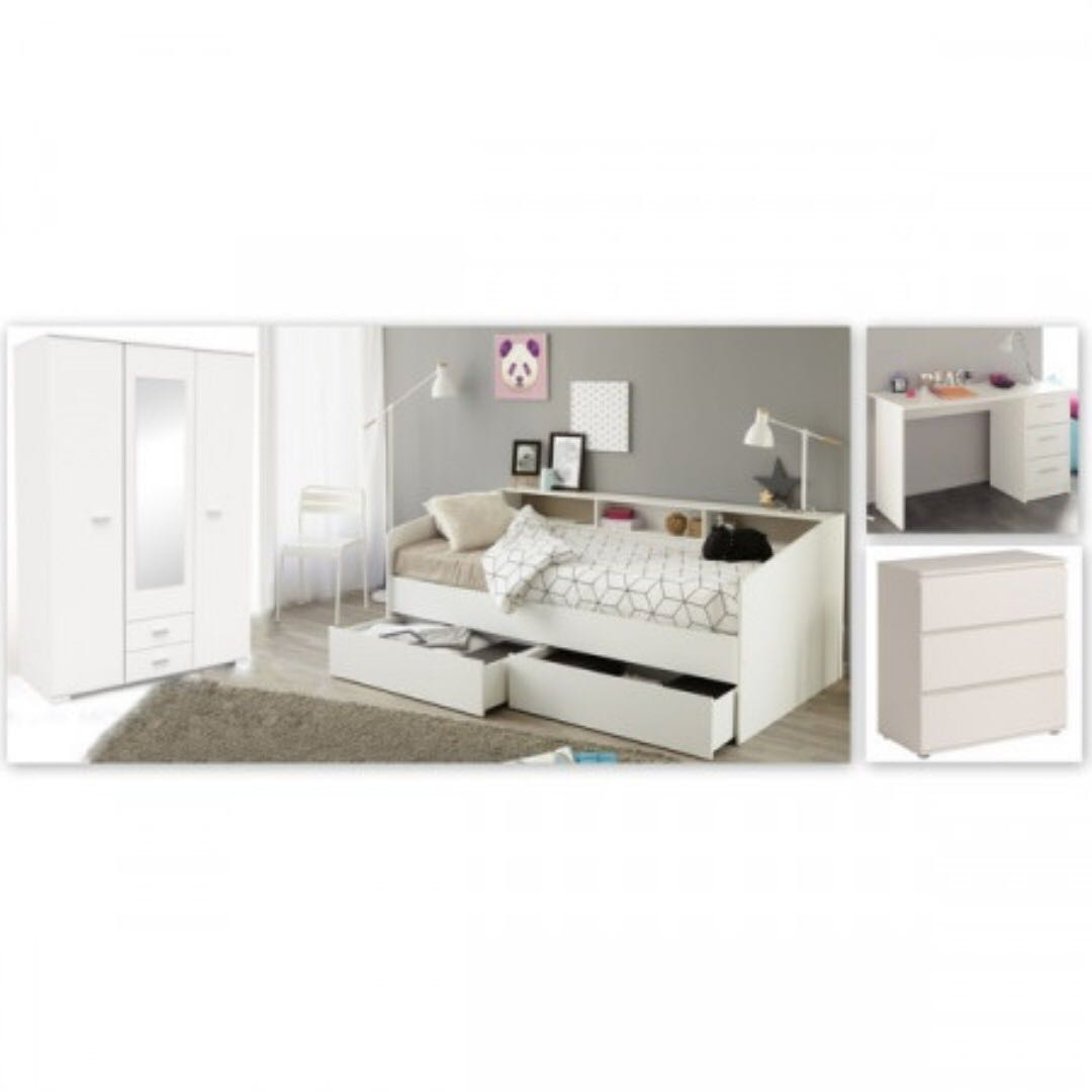 Complete bedroom set for teenager/children room, Furniture ...