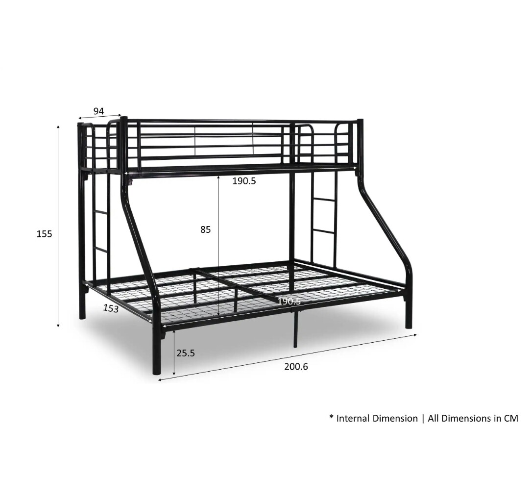 Double decker bed frame for sale., Furniture, Beds & Mattresses on ...