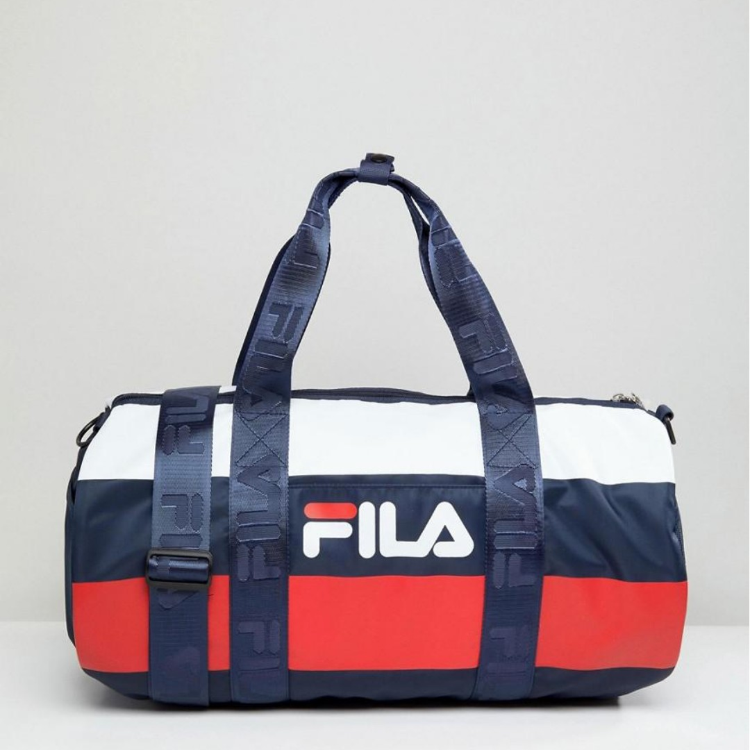 FILA Major Stripe Duffle Bag 21997559f72a4
