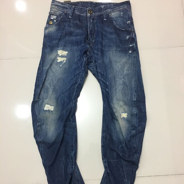 df74e683340 G Star 3301 Arc Loose Tapered Jeans, Men's Fashion, Clothes on Carousell