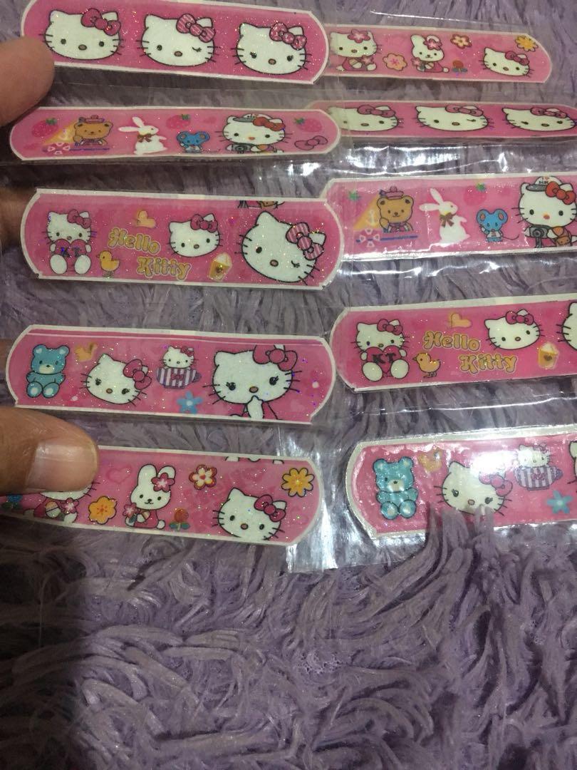 Hansaplast Hellow Kity For Girls Isi10 Babies Kids Hansaplat Tin Apparel On Carousell
