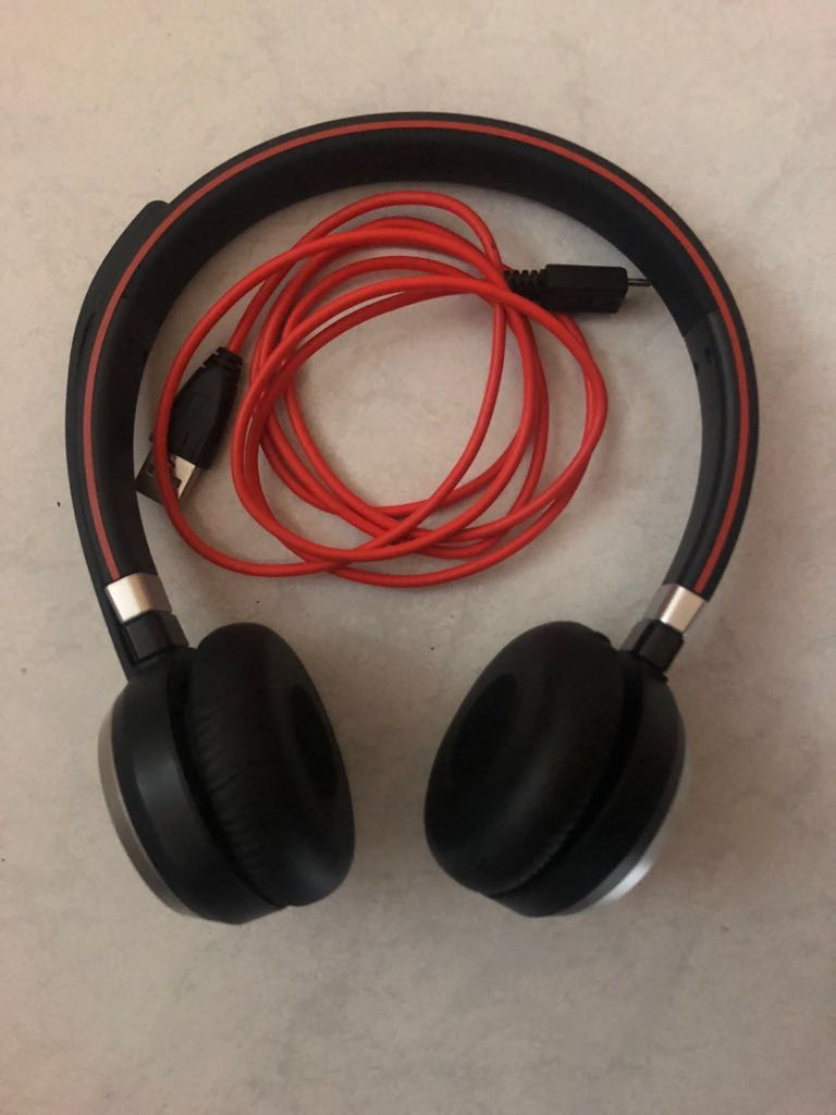 Jabra Evolve 65 Ms Stereo Professional Wireless Headset With Usb Adaptor Electronics Audio On Carousell
