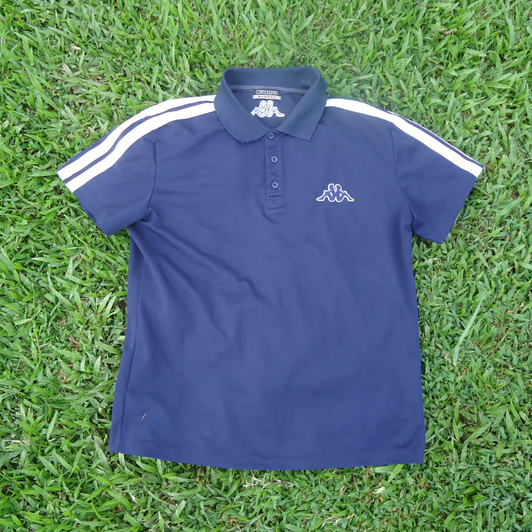 929d5ffe25 Kappa Embroidery Slim Polo Shirt Jersey, Women's Fashion, Clothes ...
