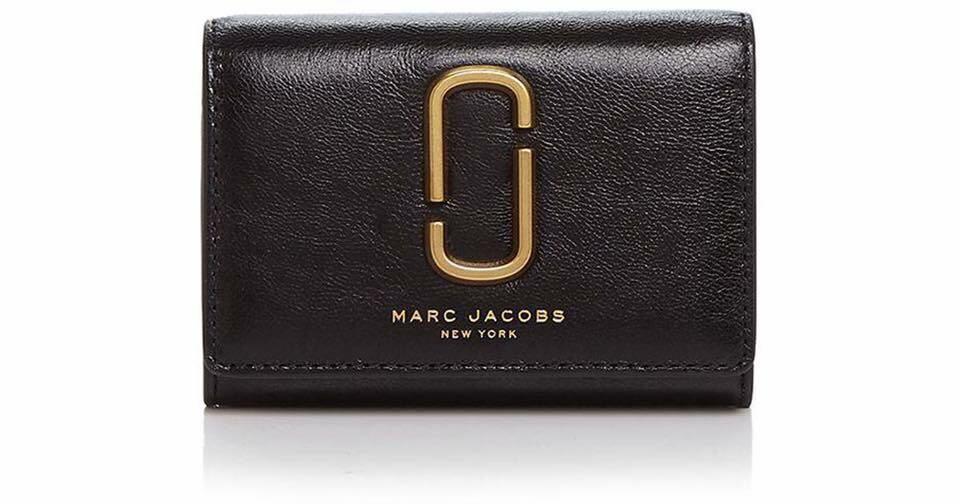 innovative design 4c5f3 d38fe Marc Jacobs Double J Multi Leather Wallet/Card Holder