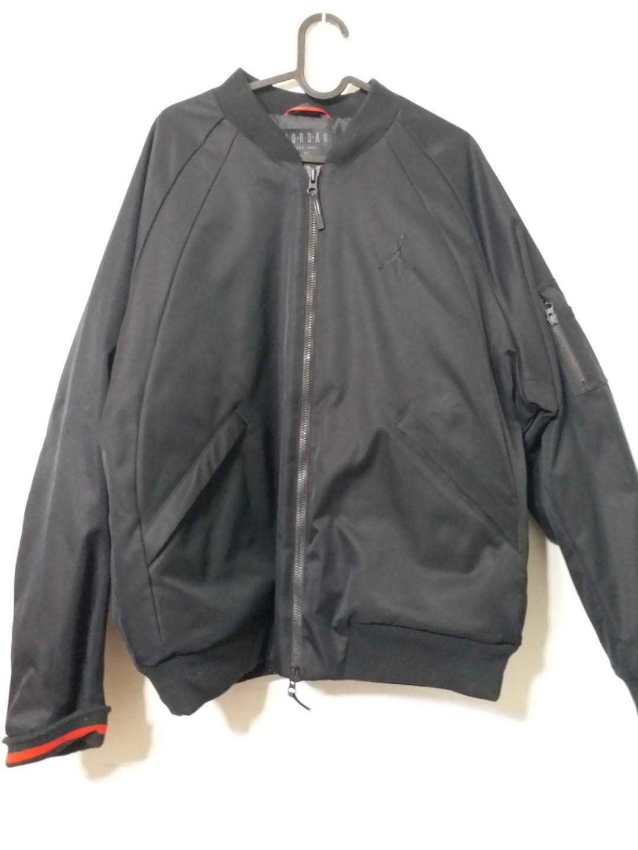 4ae2f71cdc55 Nike Air Jordan Sportswear Wings MA-1 Jacket (Black)