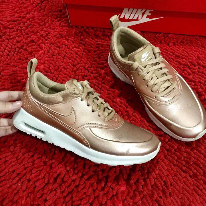 0e74096ecb65 Nike Airmax Thea Rosegold limited edition