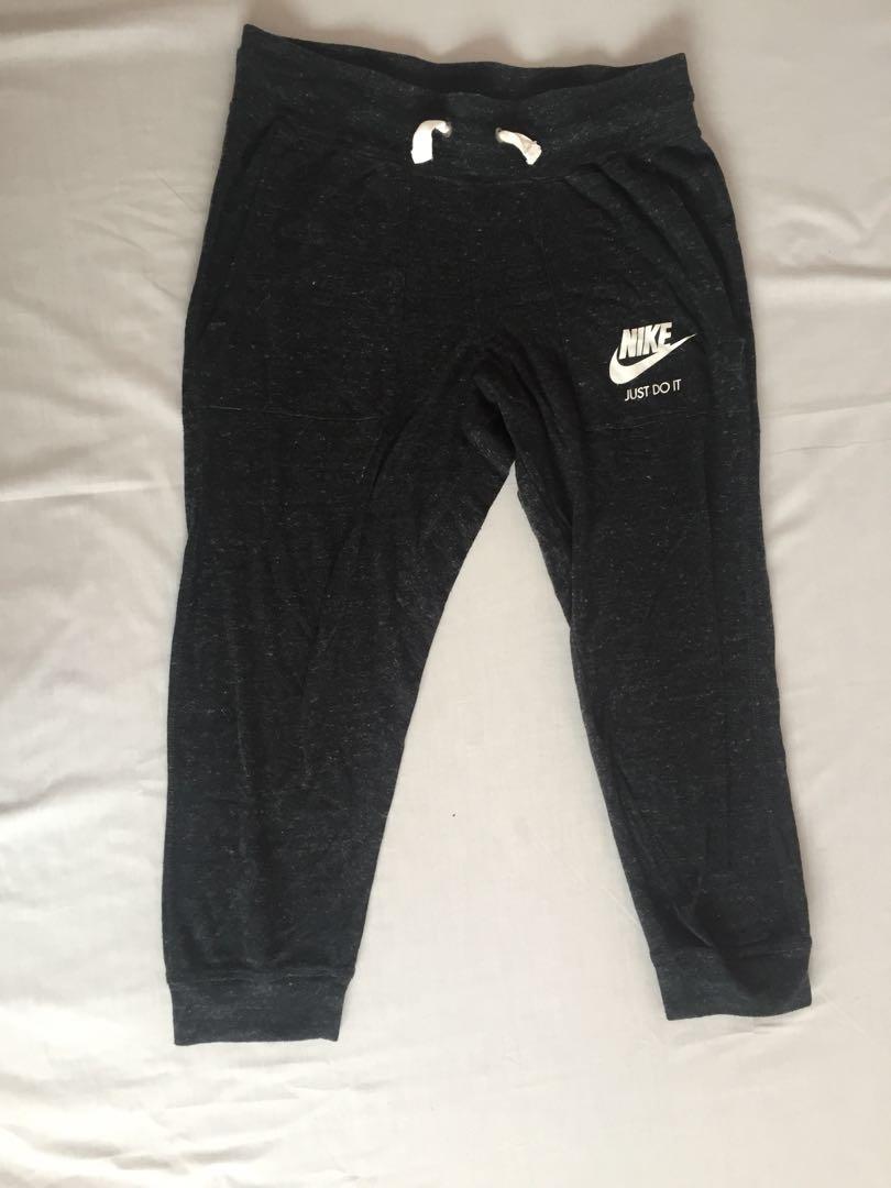 Nike Grey Tracksuit Pants