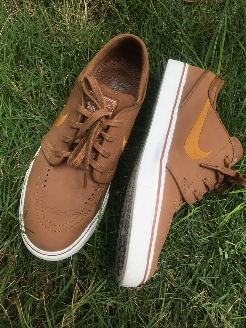 3a72a86dfc Nike SB Stefan Janoski Ale brown/Dessert ochre, Men's Fashion ...