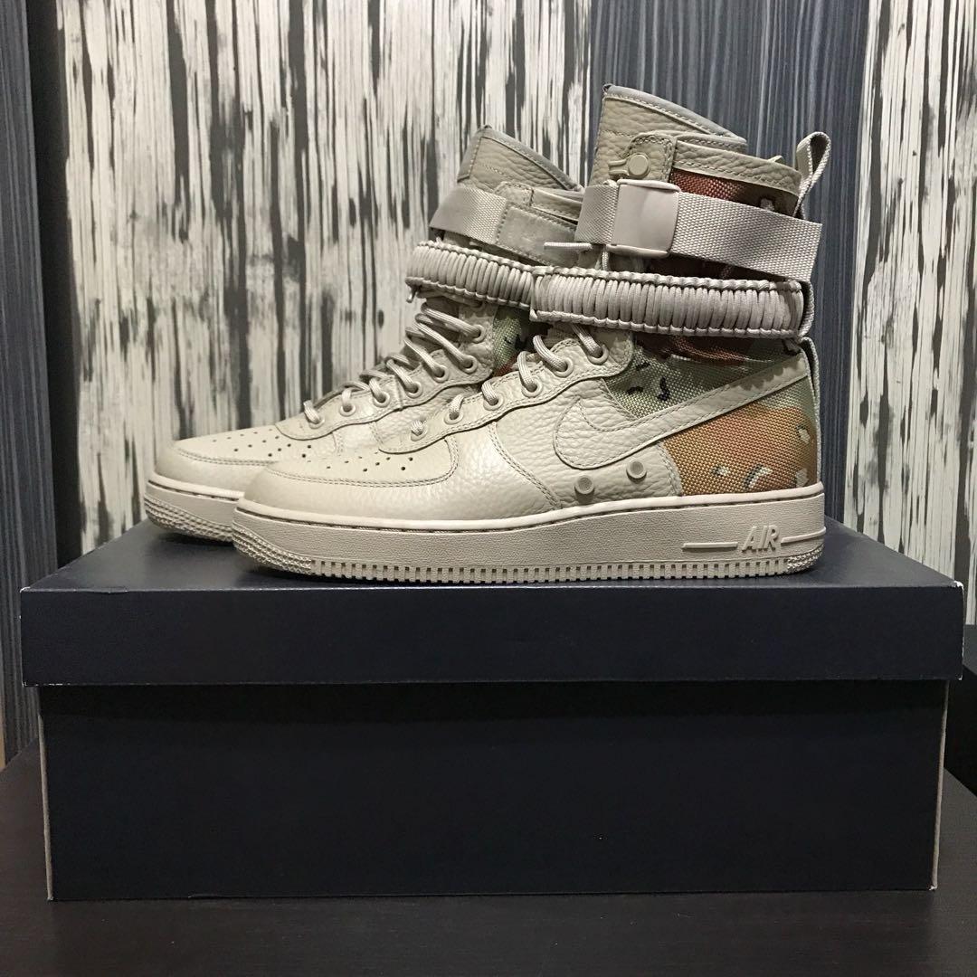 da3fc609d651d Nike SF Air Force 1 Desert Camo, Men's Fashion, Footwear on Carousell