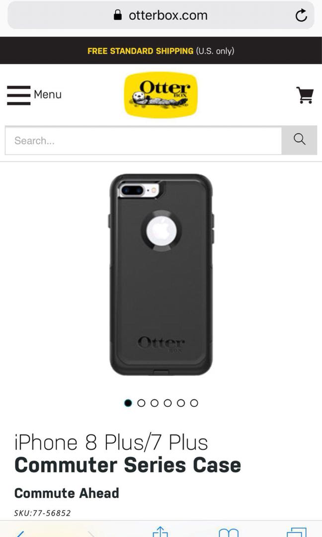 Otterbox iPhone 8 Plus/7 Plus Commuter Series Case