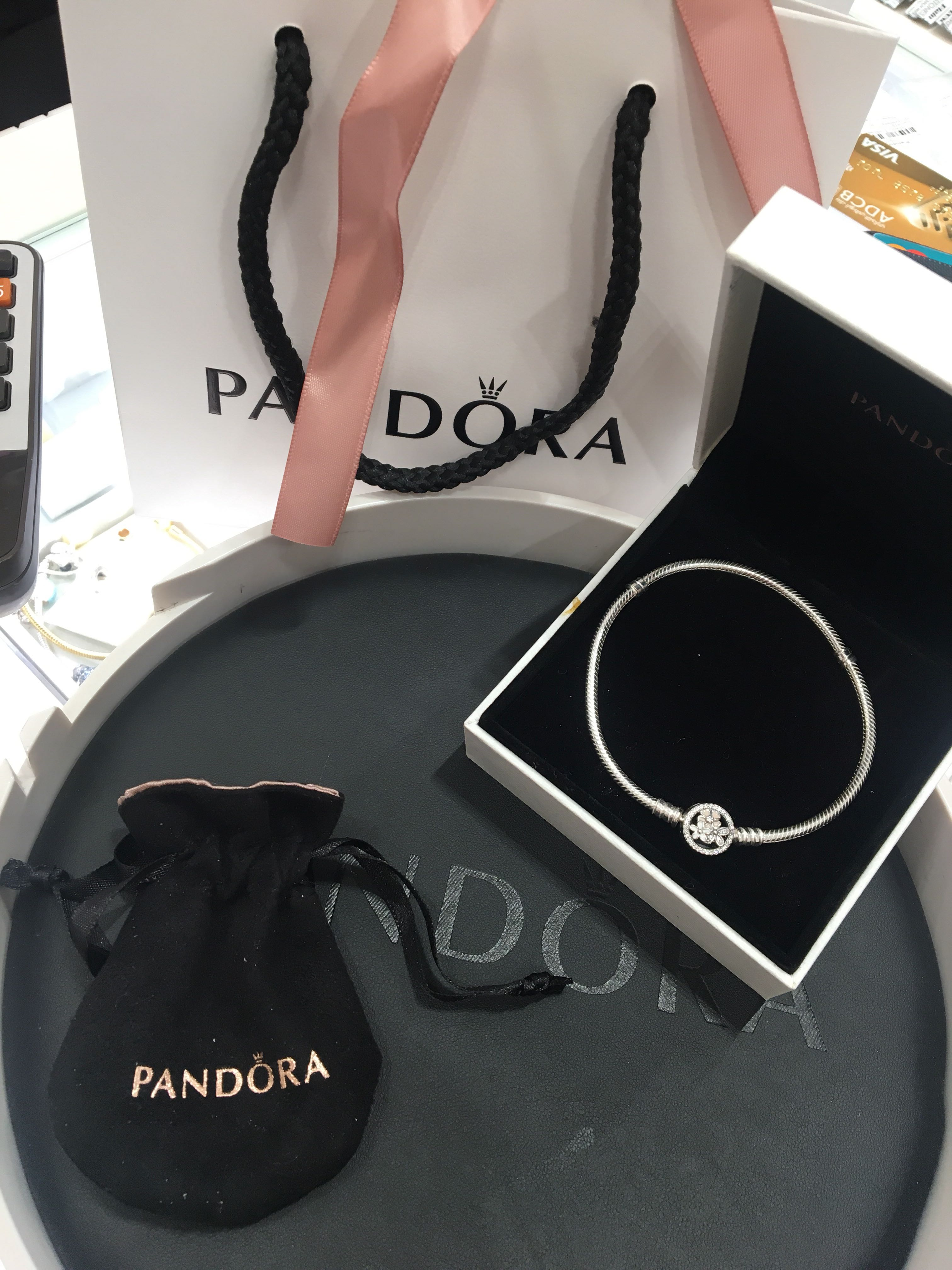 31f5f8426e86e Pandora Poetic Blooms Bracelet, Mixed Enamels & Clear CZ on Carousell
