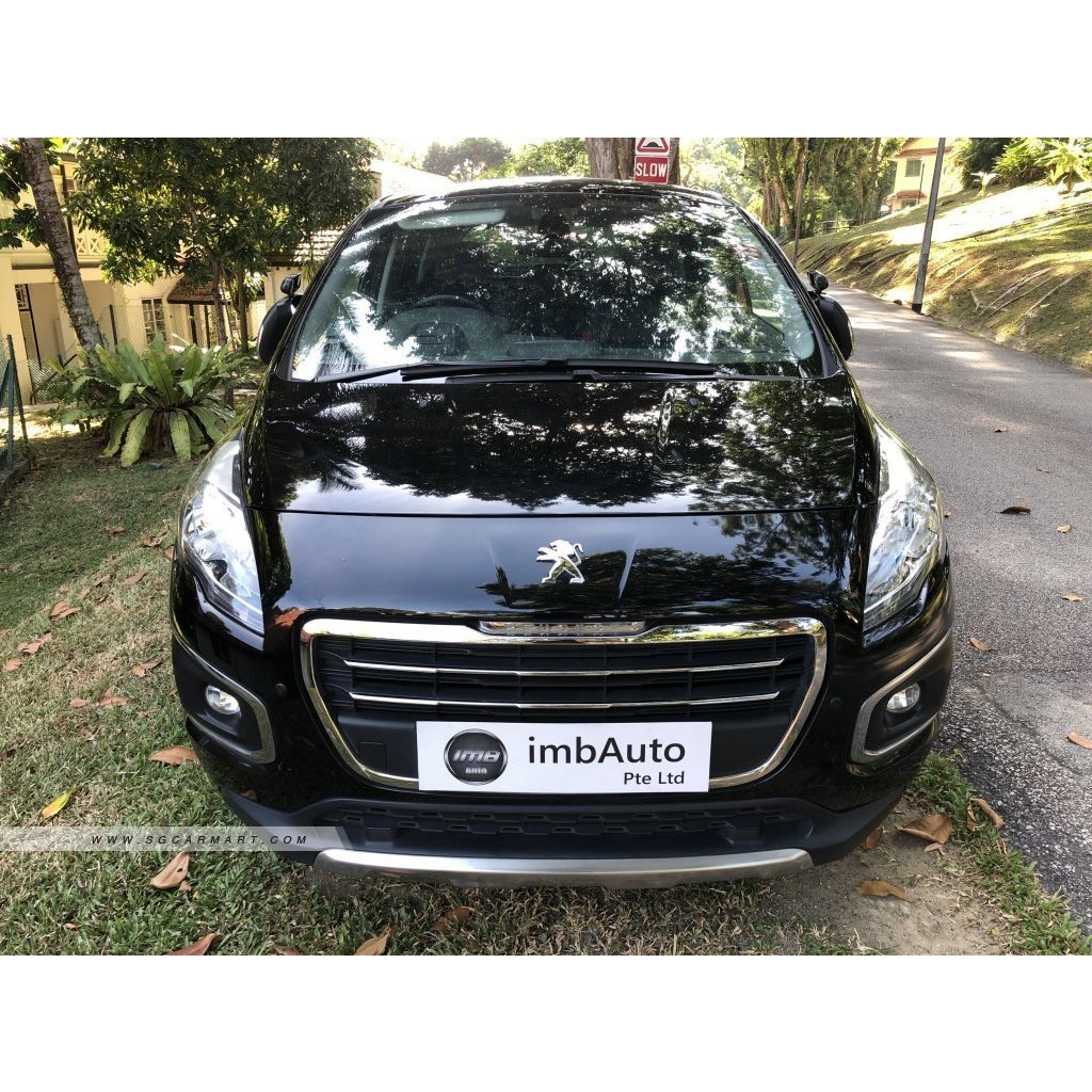 Peugeot 3008 1.6a turbo Diesel, Cars, Vehicle Rentals on Carousell