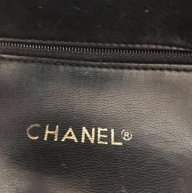 *REDUCED* Vintage Chanel Lambskin Tote