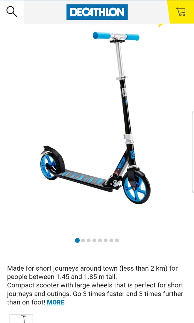 0a9fd0b46 Decathlon Oxelo Mid 7 Skate Scooter