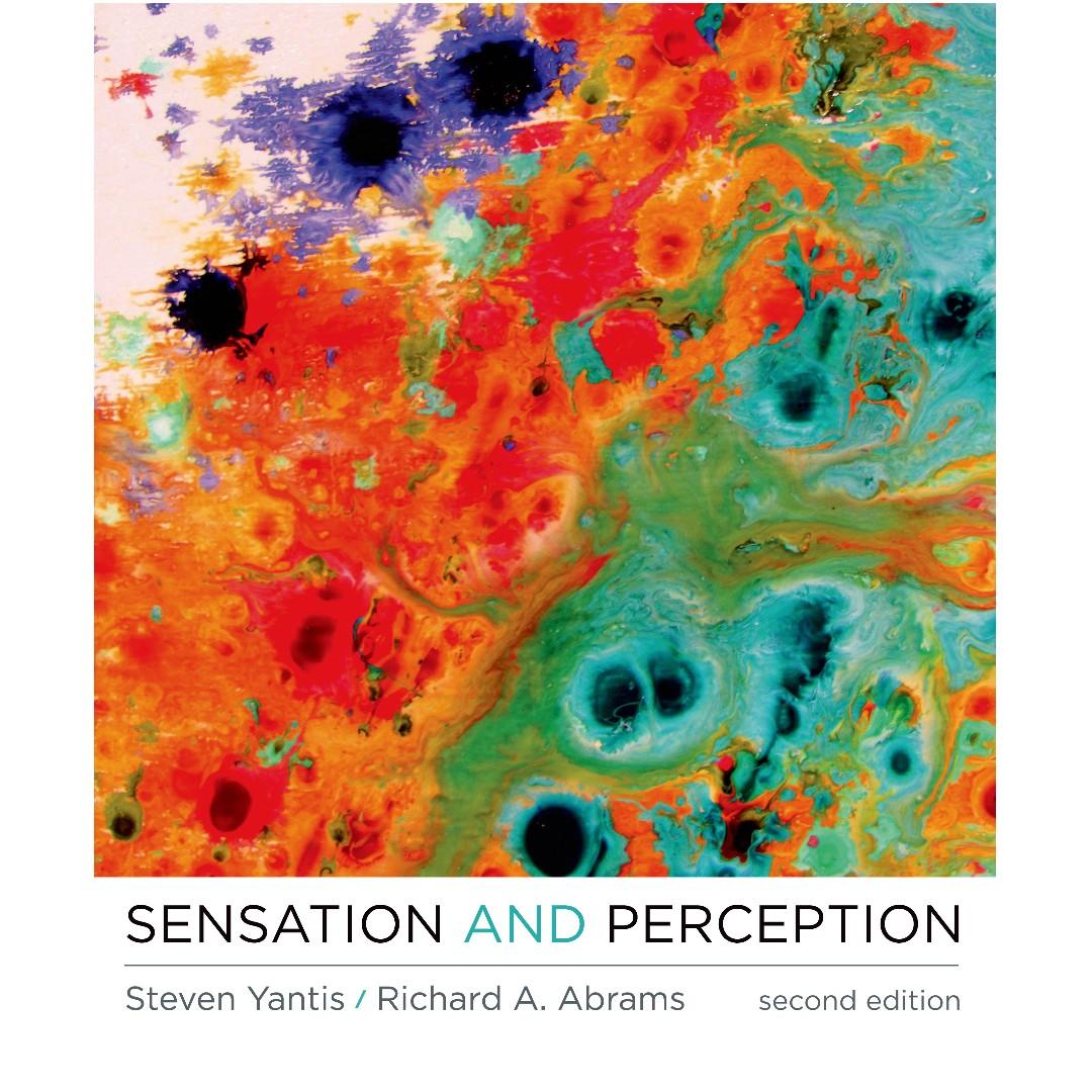 Sensation and Perception Steven Yantis Richard Abrams 2nd Edition NEW