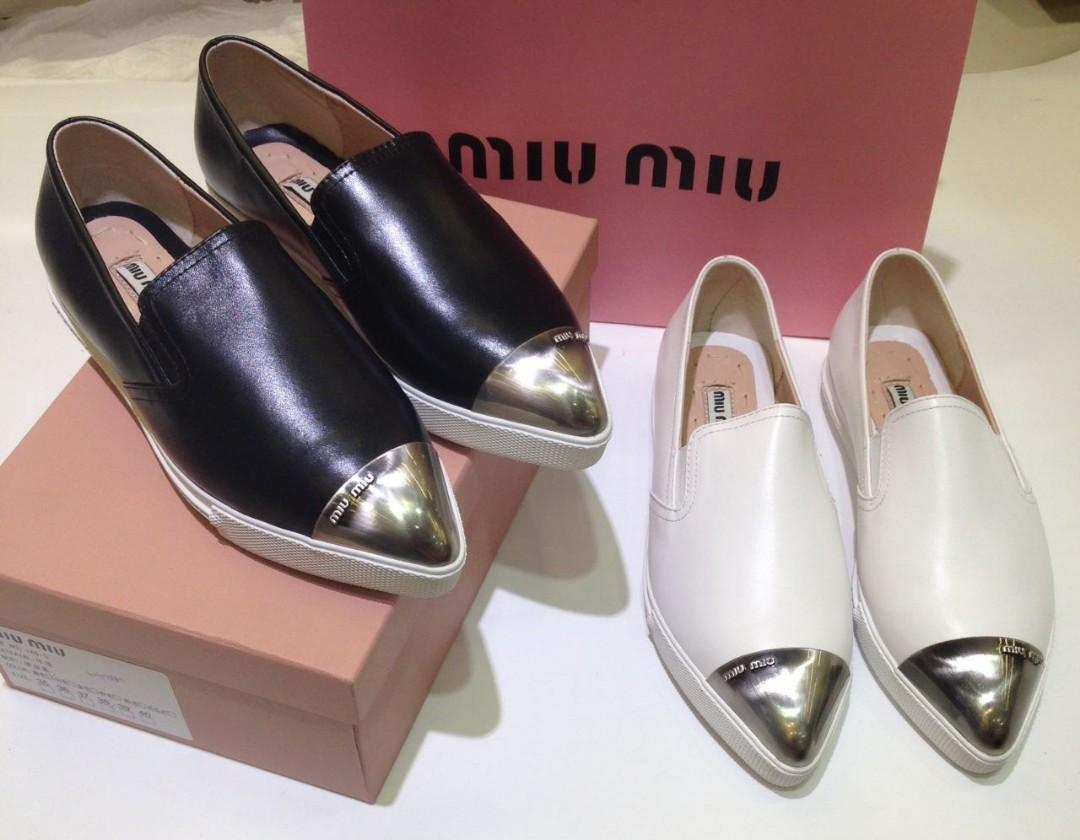 Sepatu Miu Miu Wanita Mirror Quality 876d0ee262