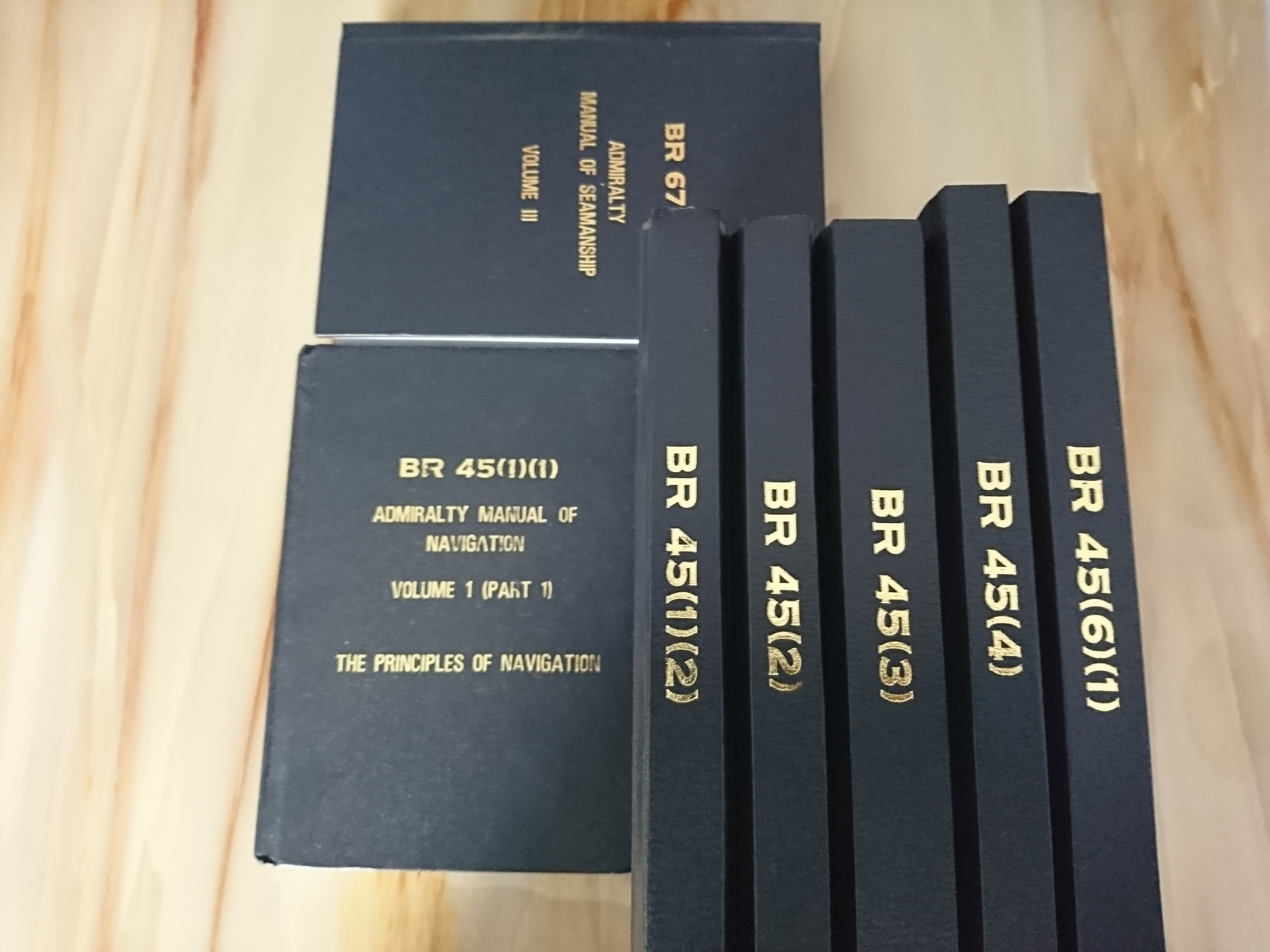 Set of Admiralty Manual of Navigation BR45, Books & Stationery, Fiction on  Carousell