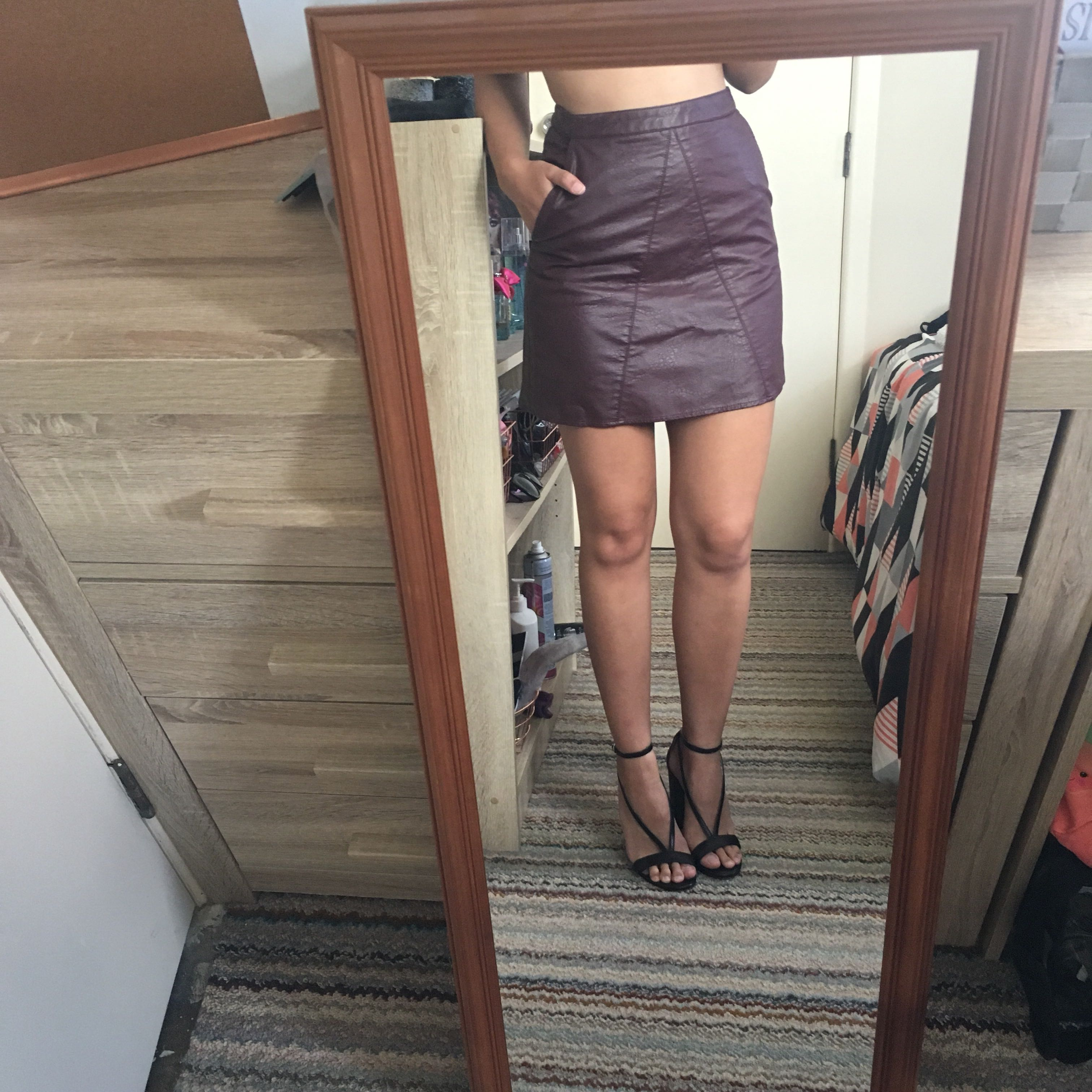 Size6 skirt glassons