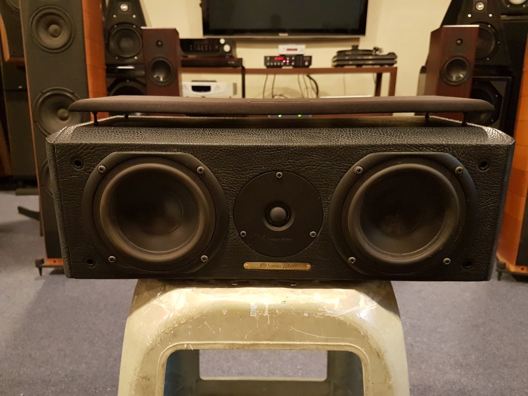 Sonus Faber Solo center speaker, Electronics, Audio on Carousell