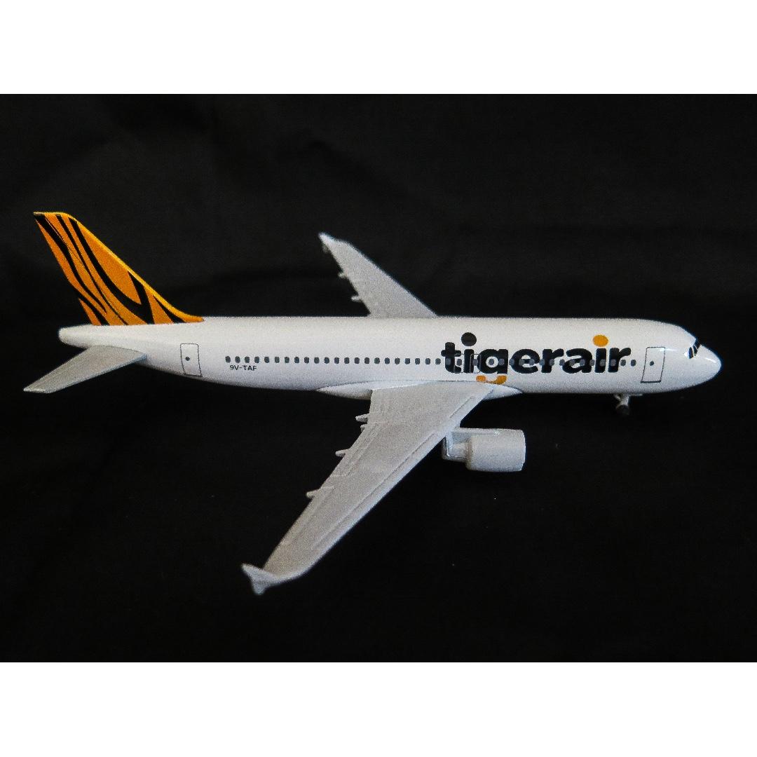 Tigerair A320 with landing gear / Model Aeroplane / Airplane