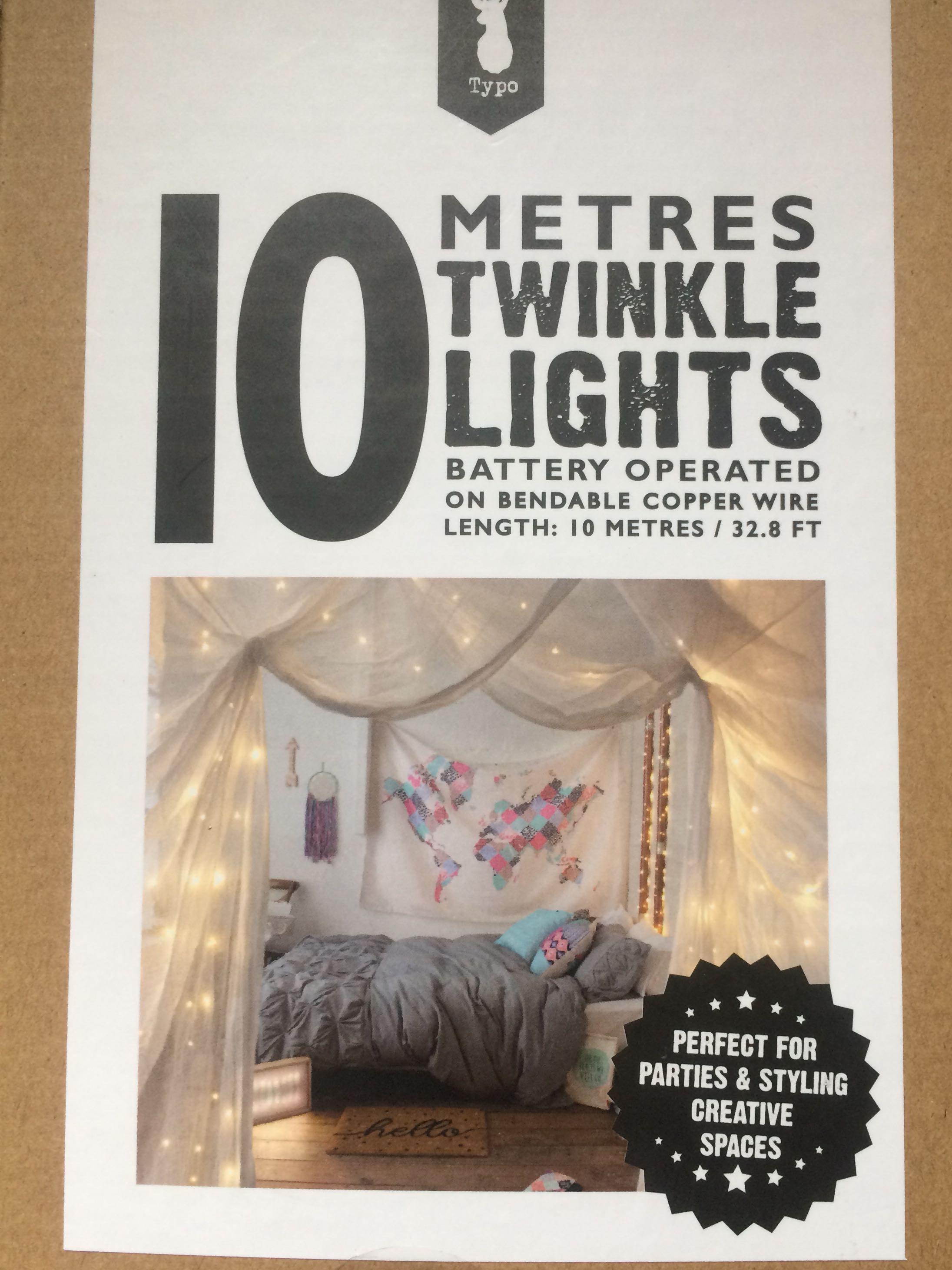 Typo 10 Metres Twinkle Lights
